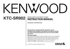 Buy Kenwood KTC-SR902 Operating Guide by download Mauritron #222862