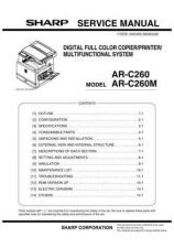 Buy Sharp ARC260P (1) Service Manual by download Mauritron #208195