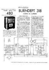 Buy BURNDEPT 318 SERVICE I by download #105479