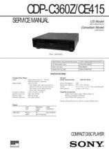 Buy Sony CDP-C322M Service Manual by download Mauritron #237274