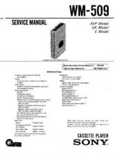 Buy Sony WM-600 Service Manual. by download Mauritron #245622