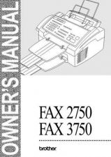 Buy BROTHER fax275-sm- by download #100664