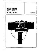Buy PENTAX ASAHI MOTOR DRIVE SYSTEM CAMERA INSTRUCTIONS by download #119009