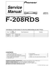 Buy PIONEER R2114 Service I by download #106443