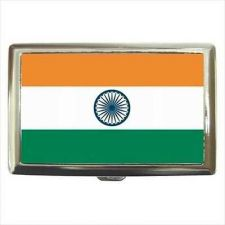 Buy India Flag Cigarette Money Credit Wallet Card Case