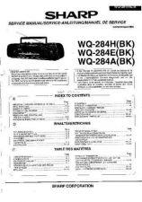 Buy Sharp. WQ284H-E-A_SM_GB-DE-FR(1) Service Manual by download Mauritron #211774