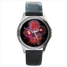 Buy Fireworks Fire Works Unisex Round Wrist Watch