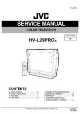 Buy JVC HV-L29PRO-K Service Manual Schematic Circuit. by download Mauritron #271075