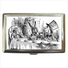 Buy Alice In Wonderland Mad Hatter Hare Cigarette Money Credit Card Wallet Case