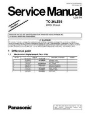 Buy Panasonic MTNC060792SE Service Manual by download Mauritron #268038
