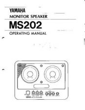 Buy Yamaha MS202E Operating Guide by download Mauritron #248824