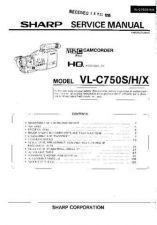 Buy Sharp VLDC1H-006 Service Manual by download Mauritron #210754