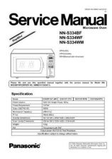 Buy Panasonic NN-S635 Service Manual by download Mauritron #268152