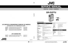 Buy JVC GR-DVP7 SERVICE MANUAL by download Mauritron #220085
