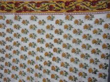 Buy 5 yards NEW Indian Hand Made pure cotton fabric hand block printed fabrics