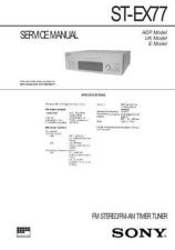Buy Sony ST-EX77 Manual by download Mauritron #229846