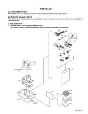 Buy JVC GR-DX77-97PARTS SERVICE MANUAL by download Mauritron #220100