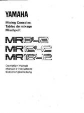Buy Yamaha MR842E Operating Guide by download Mauritron #248813