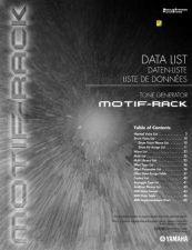 Buy Yamaha MOTIFRACKF2 Operating Guide by download Mauritron #248791