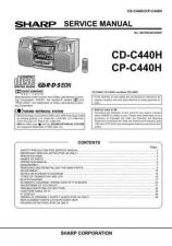 Buy Sharp CDC440H-CPC440H (1) Service Manual by download Mauritron #208502