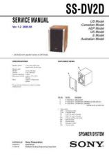 Buy Sony SS-D490 Service Manual. by download Mauritron #244758