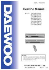 Buy Daewoo VTB834NET0 Manual by download Mauritron #226918