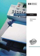 Buy HEWLETT PACKARD DIGITAL SENDER 8100 ADMIN G by download #108593