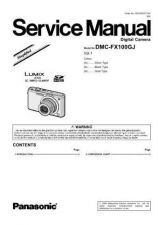 Buy Panasonic DMC-FX33GK Service Manual with Schematics by download Mauritron #266675