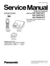 Buy Panasonic tg9312_13ct_71131_0327_final Service Manual by download Mauritron #269112