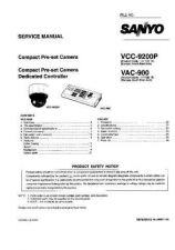 Buy Fisher. Service Manual For VCC-9200P by download Mauritron #217514