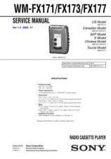 Buy Sony WM-FX165 Service Manual. by download Mauritron #245755