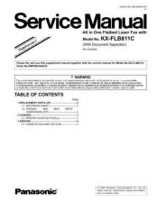 Buy Panasonic MAC0204010S1 Service Manual by download Mauritron #267544