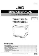 Buy JVC TM-H1750CG-E Service Manual Schematic Circuit. by download Mauritron #272647