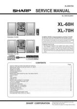 Buy Sharp. XL60-70H_SM_GB Manual by download Mauritron #212129