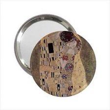 Buy The Kiss Gustav Klimt Art Round Handbag Purse Mirror