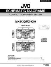 Buy JVC MX-K30 SCHM SERVICE MANUAL by download Mauritron #220535