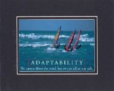 Buy Poem for Motivations - Adaptability-We cannot direct the wind, but we can adjust