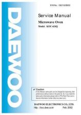 Buy Daewoo. SM_KOG-3667_(E). Manual by download Mauritron #213725