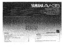 Buy Yamaha AV28BT70EN Operating Guide by download Mauritron #246721