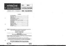 Buy Hitachi CLU-361U Service Manual by download Mauritron #263602