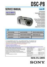 Buy Sony DSC-S30S50..... Service Manual by download Mauritron #240292