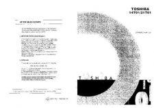 Buy TOSHIBA 1480TB CD Service Schematics Service Information by download #113831