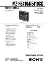 Buy Sony MZ-N710 Service Manual. by download Mauritron #243147