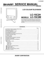 Buy Sharp LC15L1E Service Manual by download Mauritron #209856