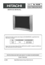 Buy Hitachi C29F100 Service Manual by download Mauritron #263435