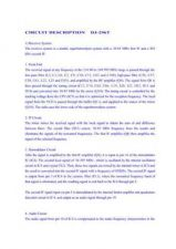 Buy ALINCO DJ-F1 Service Information Service Information by download #110341