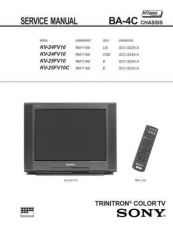 Buy Sony BA-4C CHASSIS Service Manual by download Mauritron #236832