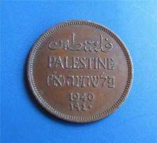 Buy Israel Palestine 1 Mil 1940 Coin Key Date