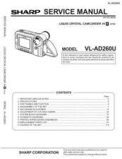 Buy Sharp VLAH30451 Service Manual by download Mauritron #210731