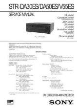 Buy SONY STR-DE1015G Technical Info by download #105255
